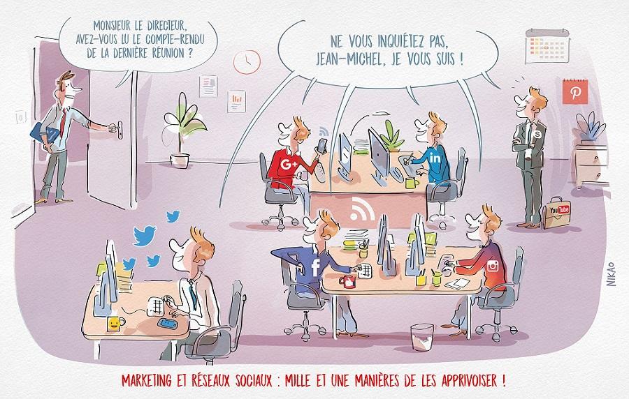 Marketing et réseaux sociaux