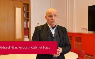 Gérard Haas, Cabinet, avocat à Paris