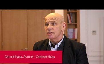 Gérard Haas, Avocat au cabinet Haas.