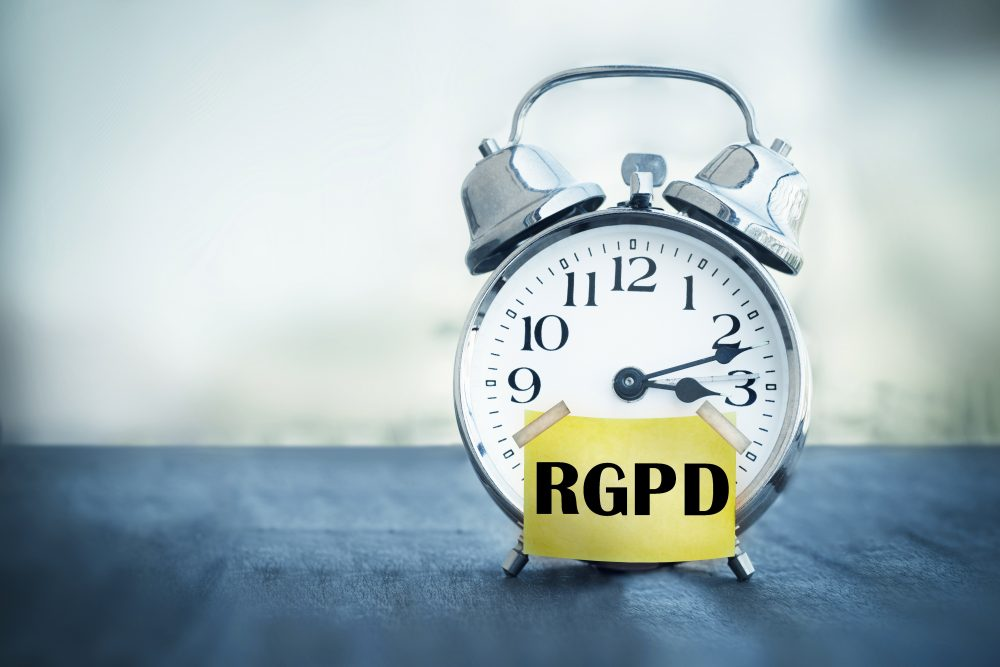 Application du RGPD