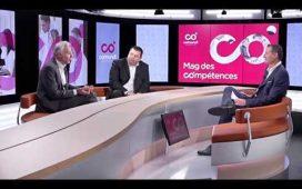 Olivier Cagnac, DRH d'Exterion Media (à gauche)