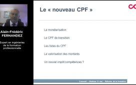 Le nouveau CPF