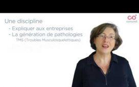 Catherine Vinçonneau, experte en ergonomie de travail