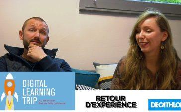 Justine Paul et Stéphane Guery, communicants chez Décathlon