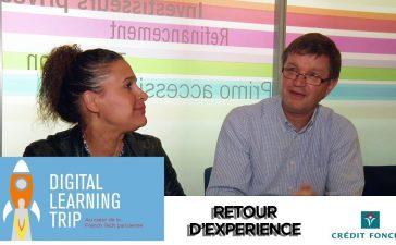 Valérie Dreux et Jérôme Lamiot, communicants chez Crédit Foncier