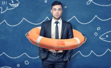 sous l'eau : travail dans urgence