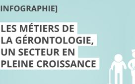 Découvrez les métiers de la gérontologie en infographie