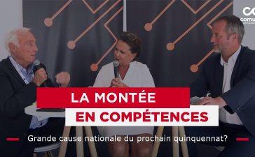 Claire Pascal (DG Comundi et VP de la FFP) et Stéphan Viry, député LR des Vosges, à la REF 2021